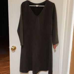 NWT Merona longsleeves  dress  XL